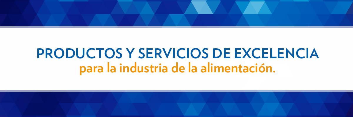 Productos y servicios Vertrauen para la industria de la alimentación