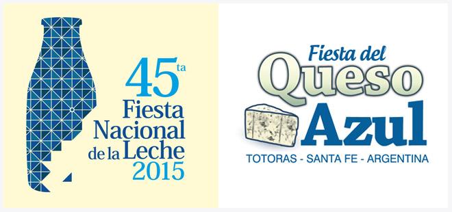 Fiesta Nacional de la leche y Fiesta nacional del Queso Azul - Totoras 2015